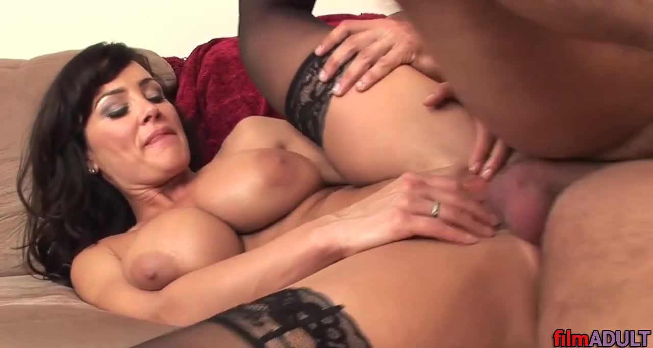 Порно с тётей лизой