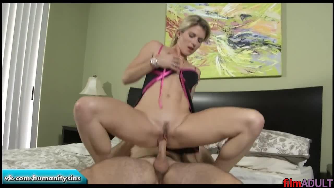Порно кончил в тещею