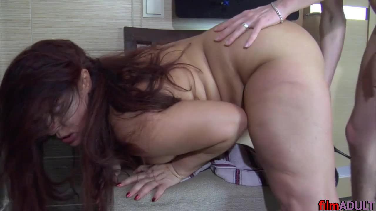 Порно толстая тётя и племянник