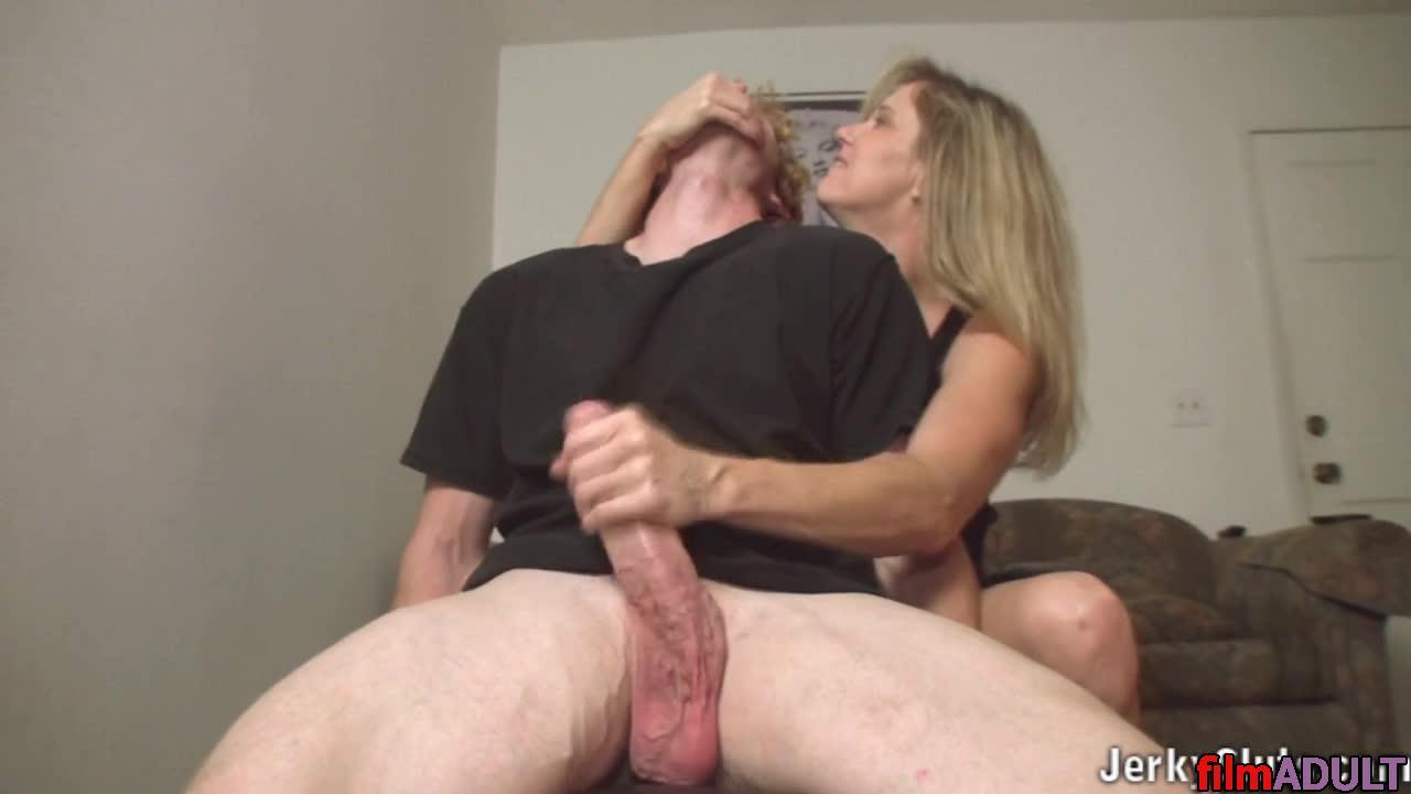 Mom caught by son doing masturbation