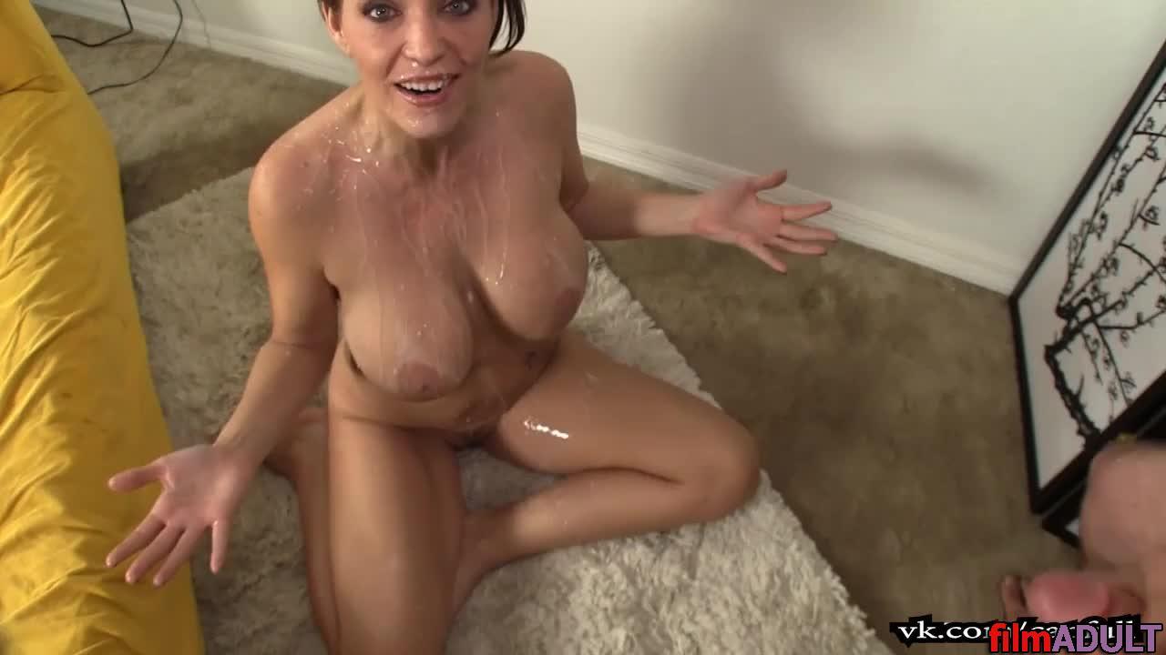 Порно видео онлайн обкончали всю видео